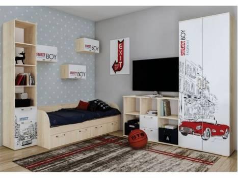Модульная детская спальня Сенди 3