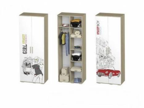 Шкаф 2-х створчатый Сенди ШК-09