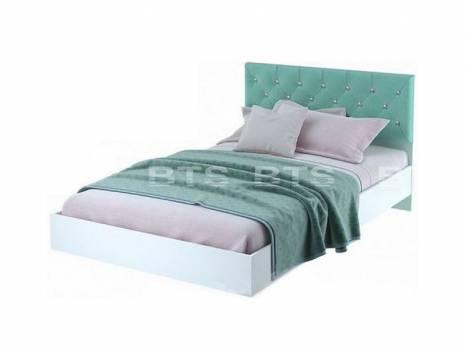 Кровать с мягкой спинкой Тифани КР-09