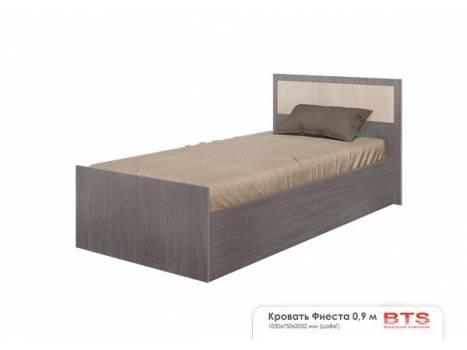 Кровать односпальная Фиеста 0,9
