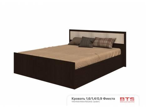 Кровать двухспальная Фиеста 1,4 - 1,6