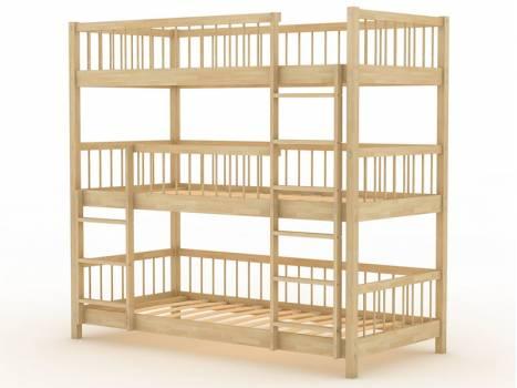 """Кровать трехъярусная детская """"Березка-18"""""""