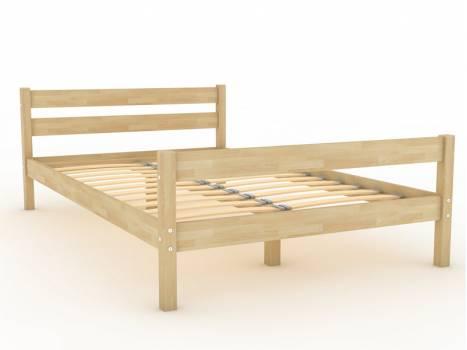 """Кровать деревянная """"Березка-2"""""""