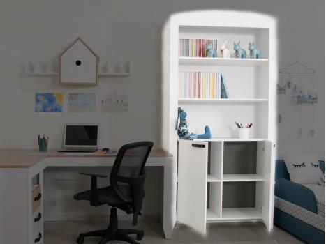 "Шкаф для книг ""Нордик"""