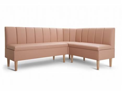 Кухонный угловой диван модульный Лайм-Вуд 2