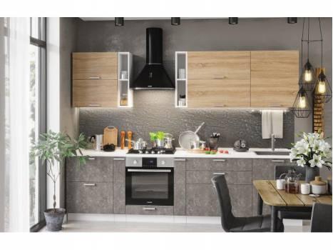 Кухня модульная Бетоны-3