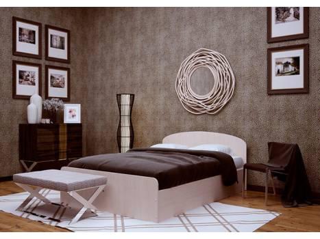 """Кровать с кромкой """"ВИК"""" 0,8"""