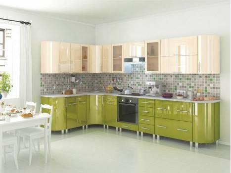 Кухня угловая радиусная Танго 9