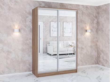 Шкаф купе с зеркалами Комфорт 1,45