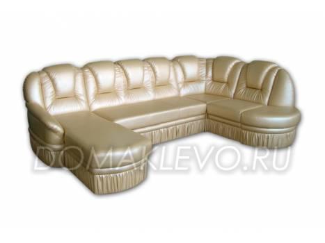 Угловой диван Мейджик 2 с оттоманкой